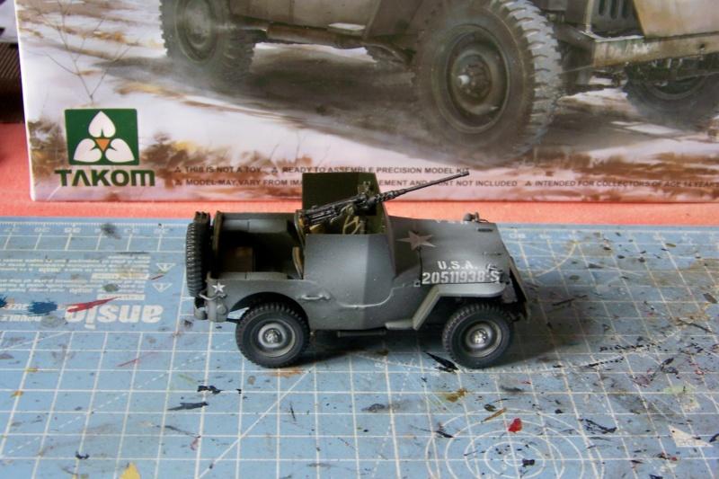 US Army 1/4 ton Armored Truck = Jeep Blindée ( Takom 1/35) - Page 3 100_9765