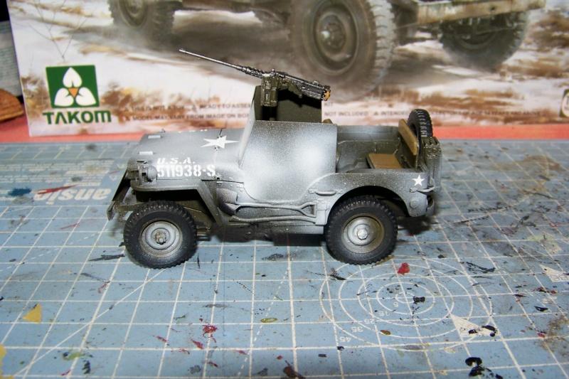 US Army 1/4 ton Armored Truck = Jeep Blindée ( Takom 1/35) - Page 3 100_9766