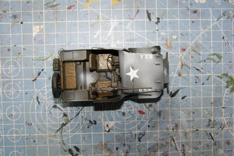 US Army 1/4 ton Armored Truck = Jeep Blindée ( Takom 1/35) - Page 3 100_9767