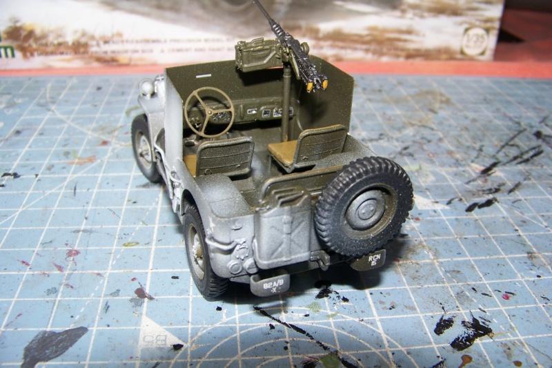 US Army 1/4 ton Armored Truck = Jeep Blindée ( Takom 1/35) - Page 3 100_9769