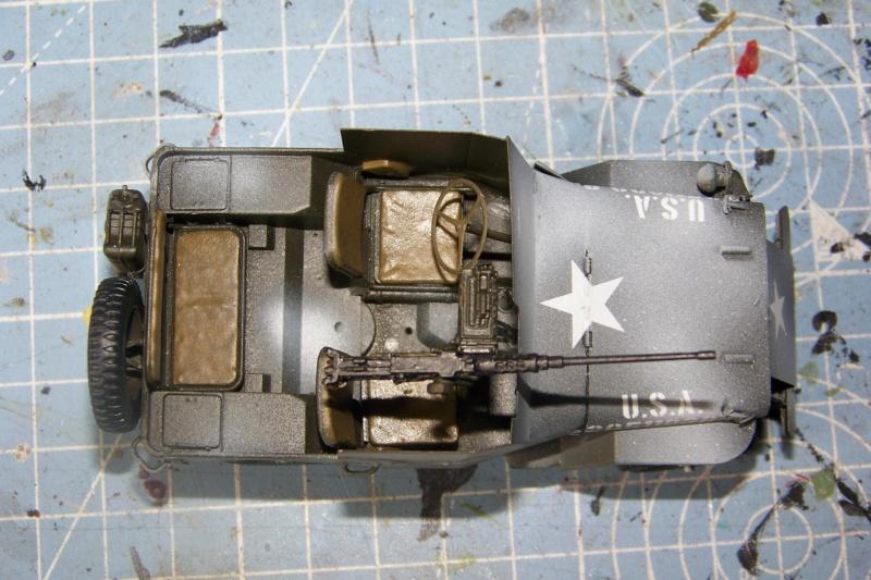 US Army 1/4 ton Armored Truck = Jeep Blindée ( Takom 1/35) - Page 3 100_9771