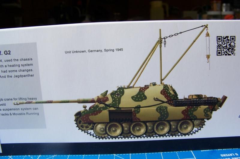"""Matou de chasse SDKFZ 173 Jagdpanther G2 """" Wacht am Rhein"""" (Meng 1/35) 100_9779"""