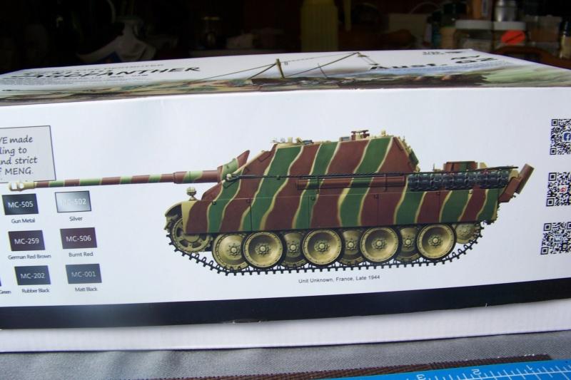 """Matou de chasse SDKFZ 173 Jagdpanther G2 """" Wacht am Rhein"""" (Meng 1/35) 100_9780"""