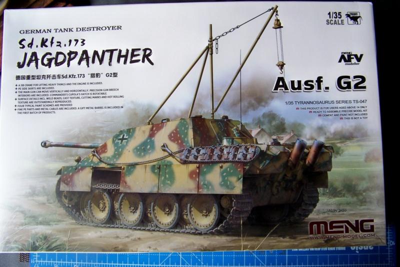 """Matou de chasse SDKFZ 173 Jagdpanther G2 """" Wacht am Rhein"""" (Meng 1/35) 100_9781"""