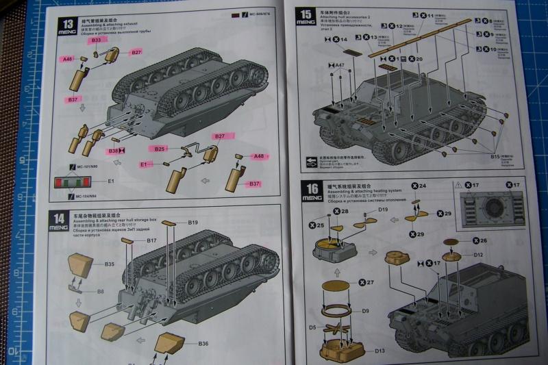 """Matou de chasse SDKFZ 173 Jagdpanther G2 """" Wacht am Rhein"""" (Meng 1/35) 100_9785"""