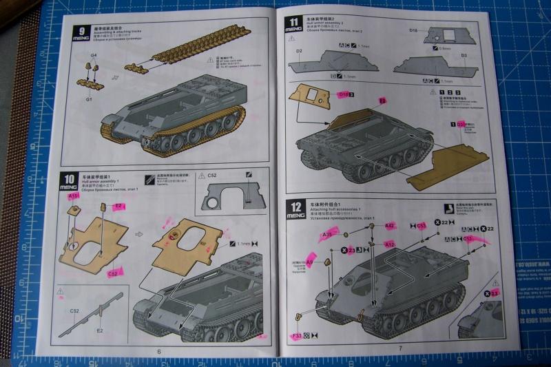 """Matou de chasse SDKFZ 173 Jagdpanther G2 """" Wacht am Rhein"""" (Meng 1/35) 100_9786"""