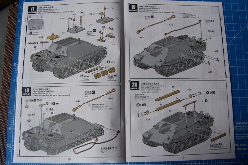 """Matou de chasse SDKFZ 173 Jagdpanther G2 """" Wacht am Rhein"""" (Meng 1/35) 100_9787"""