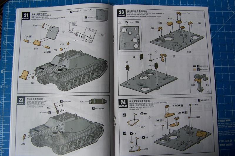 """Matou de chasse SDKFZ 173 Jagdpanther G2 """" Wacht am Rhein"""" (Meng 1/35) 100_9788"""