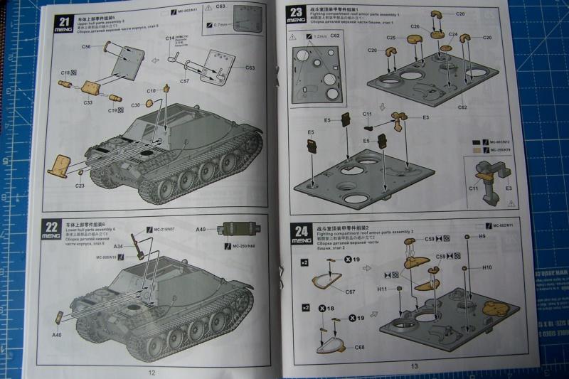 """Matou de chasse SDKFZ 173 Jagdpanther G2 """" Wacht am Rhein"""" (Meng 1/35) 100_9789"""