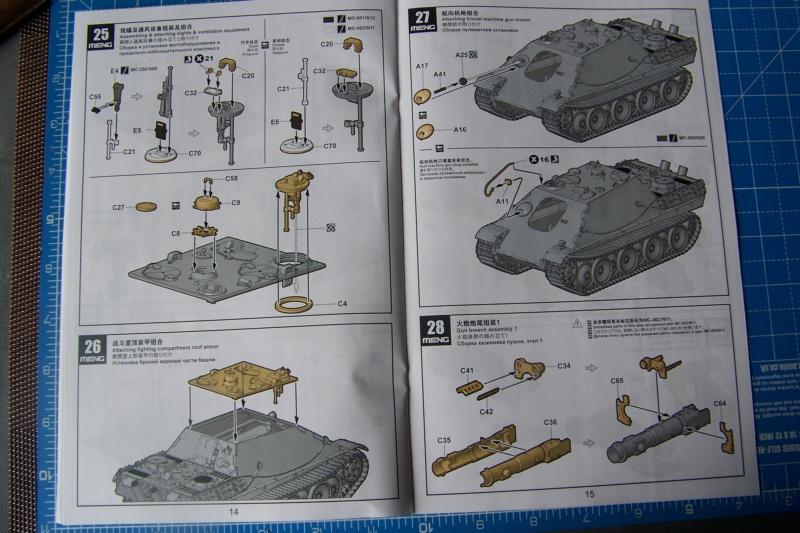 """Matou de chasse SDKFZ 173 Jagdpanther G2 """" Wacht am Rhein"""" (Meng 1/35) 100_9790"""