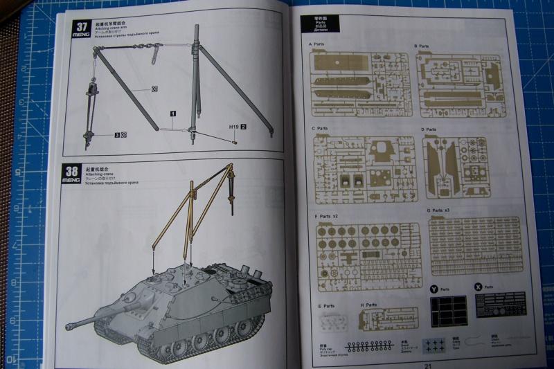 """Matou de chasse SDKFZ 173 Jagdpanther G2 """" Wacht am Rhein"""" (Meng 1/35) 100_9793"""
