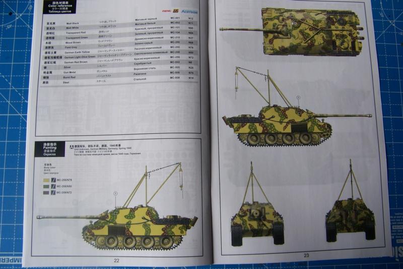 """Matou de chasse SDKFZ 173 Jagdpanther G2 """" Wacht am Rhein"""" (Meng 1/35) 100_9810"""