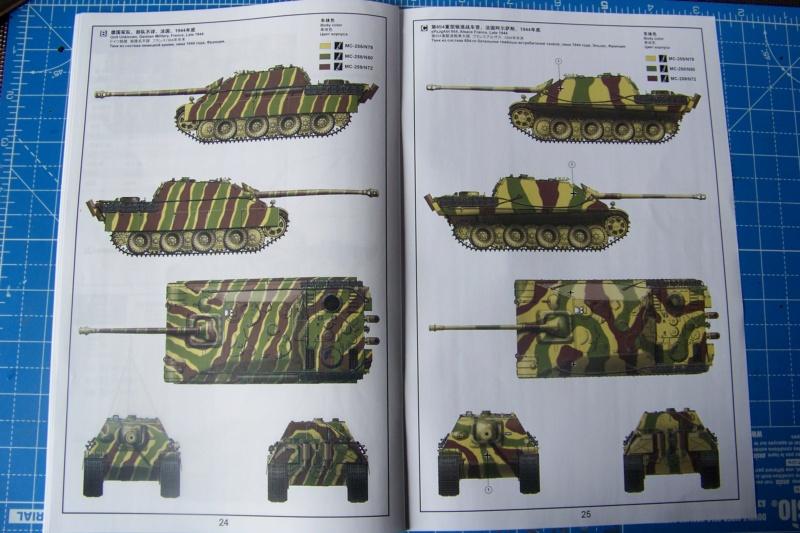 """Matou de chasse SDKFZ 173 Jagdpanther G2 """" Wacht am Rhein"""" (Meng 1/35) 100_9811"""