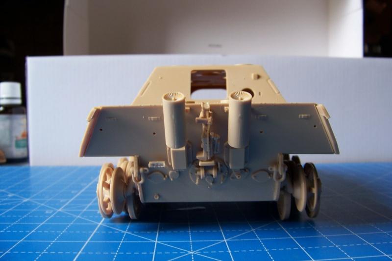 """Matou de chasse SDKFZ 173 Jagdpanther G2 """" Wacht am Rhein"""" (Meng 1/35) 100_9813"""