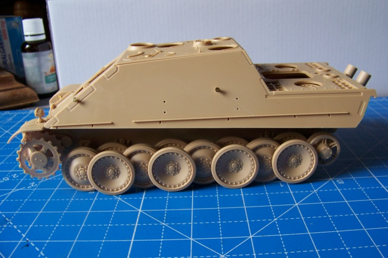 """Matou de chasse SDKFZ 173 Jagdpanther G2 """" Wacht am Rhein"""" (Meng 1/35) 100_9814"""