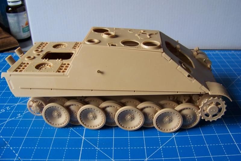 """Matou de chasse SDKFZ 173 Jagdpanther G2 """" Wacht am Rhein"""" (Meng 1/35) 100_9815"""