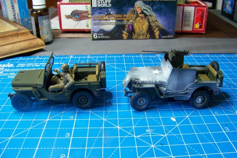 US Army 1/4 ton Armored Truck = Jeep Blindée ( Takom 1/35) - Page 3 100_9832