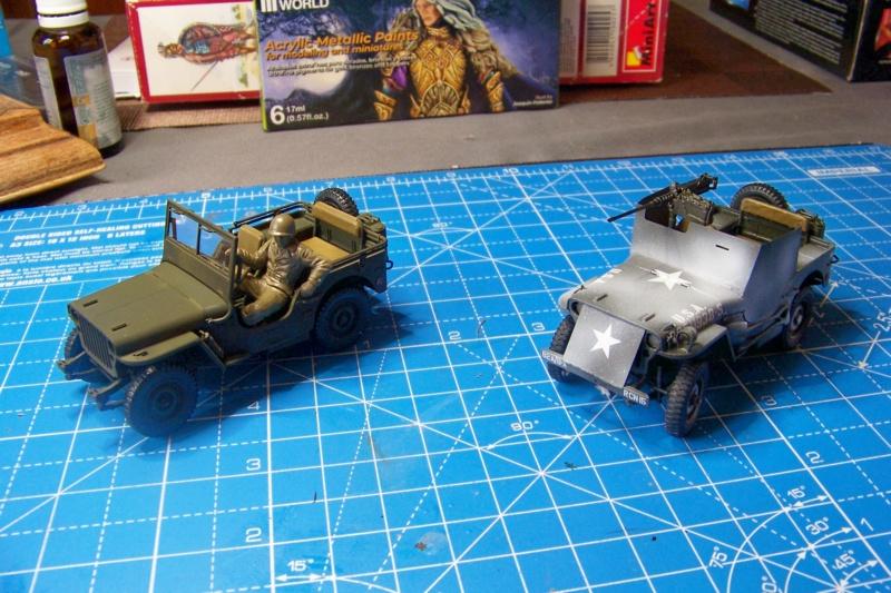 US Army 1/4 ton Armored Truck = Jeep Blindée ( Takom 1/35) - Page 3 100_9834