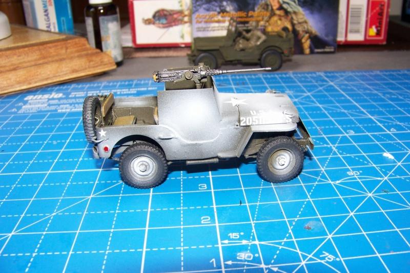 US Army 1/4 ton Armored Truck = Jeep Blindée ( Takom 1/35) - Page 3 100_9836