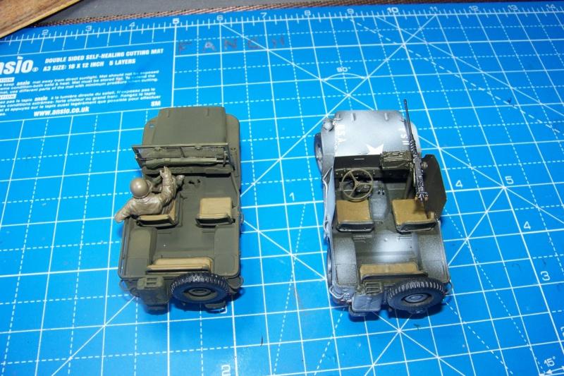 US Army 1/4 ton Armored Truck = Jeep Blindée ( Takom 1/35) - Page 3 100_9837