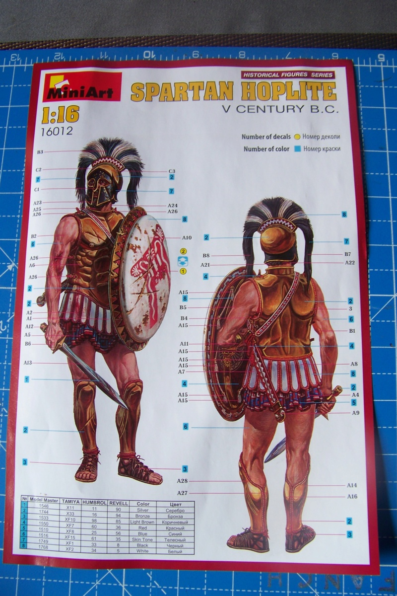 Hoplite Lacédémonien ( Spartiate) Miniart 1/16  100_9896