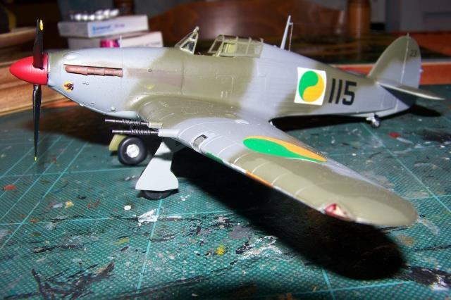 Montage: Hurricane MkI irlandais 10277711