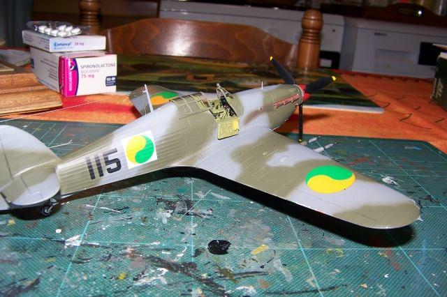 Hawker Hurricane MKIIc Hasegawa 1/48( Nov 2013 Fini)  10295610