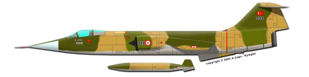 F 104 S (Monogram 1/48 + scratch)   FINI   106_1710
