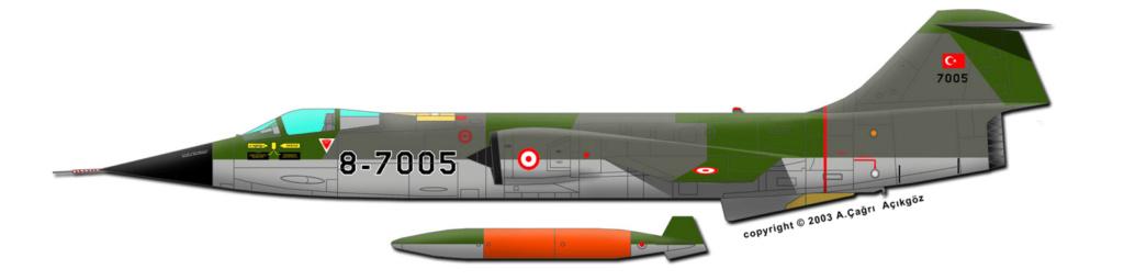 F 104 S (Monogram 1/48 + scratch)   FINI   106_2610