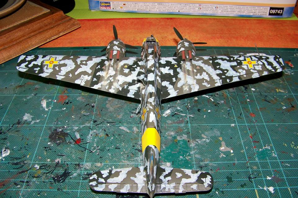 junkers JU 87 G/D Tank Buster  1/72 REVELL FINI !!!!!! - Page 3 10978611