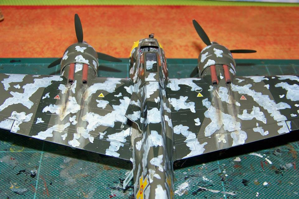 junkers JU 87 G/D Tank Buster  1/72 REVELL FINI !!!!!! - Page 3 10991310