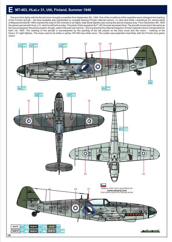 Ouvre boite Messerschmitt Bf 109G-6 ACADEMY 1/48 109g6a10