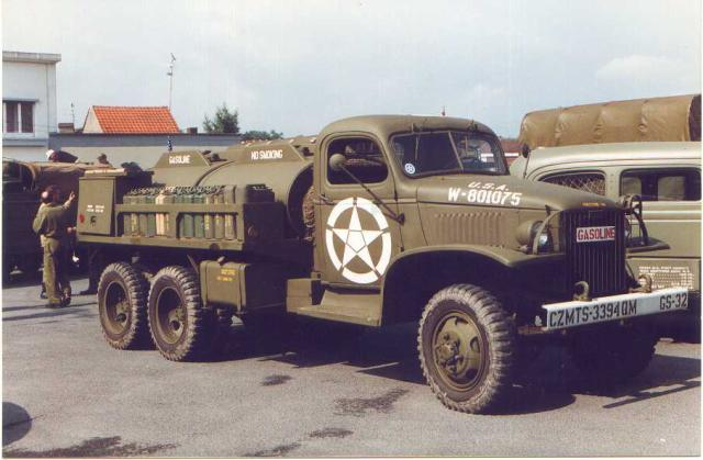 US 2 1/2 ton 6x6 airfield fuel truck _ Tamiya ech 1/48 15318610