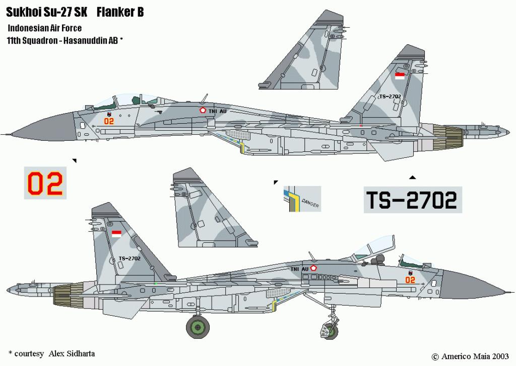 SUKHOI SU 27 FLANKER B ( Revell au 1/72 )  16_111