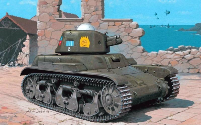 R-35 131 Regimento Carristi CII ( 2éme Compagnie) Tamiya 1/35 18539310