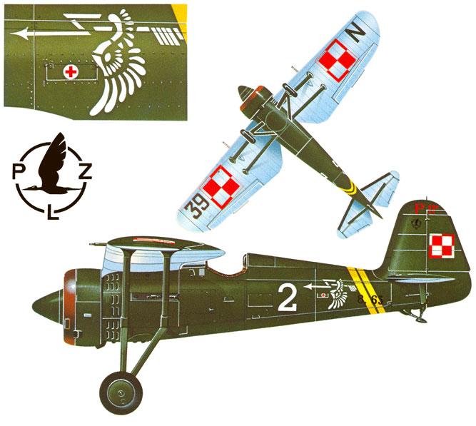 [MIRAGE] PZL P-11c .121 Eskadra Mysliwska, III/2 Pulk Lotniczy : Skończone Réf 48102  1_10