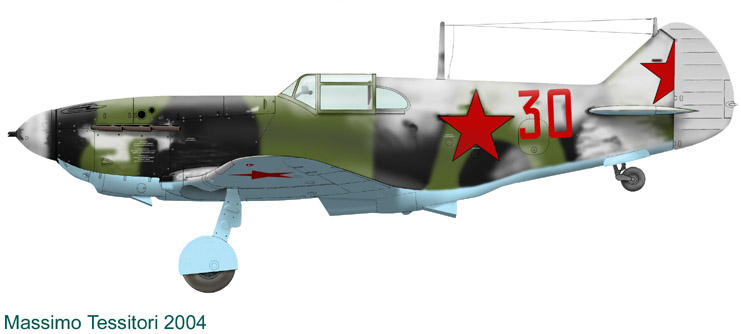 Лавочкин-Горбунов-Гудков ЛаГГ-3 ICM 1/48 ( LaGG-3 )Fini 1_16_b10