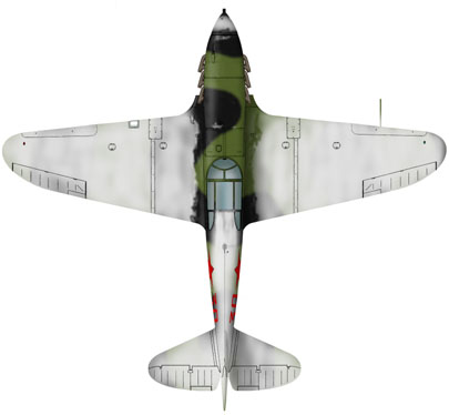 Лавочкин-Горбунов-Гудков ЛаГГ-3 ICM 1/48 ( LaGG-3 )Fini 1_16_b11