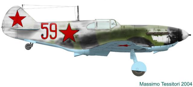 Лавочкин-Горбунов-Гудков ЛаГГ-3 ICM 1/48 ( LaGG-3 )Fini - Page 3 1_1_b110