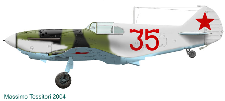 Лавочкин-Горбунов-Гудков ЛаГГ-3 ICM 1/48 ( LaGG-3 )Fini 1_5310