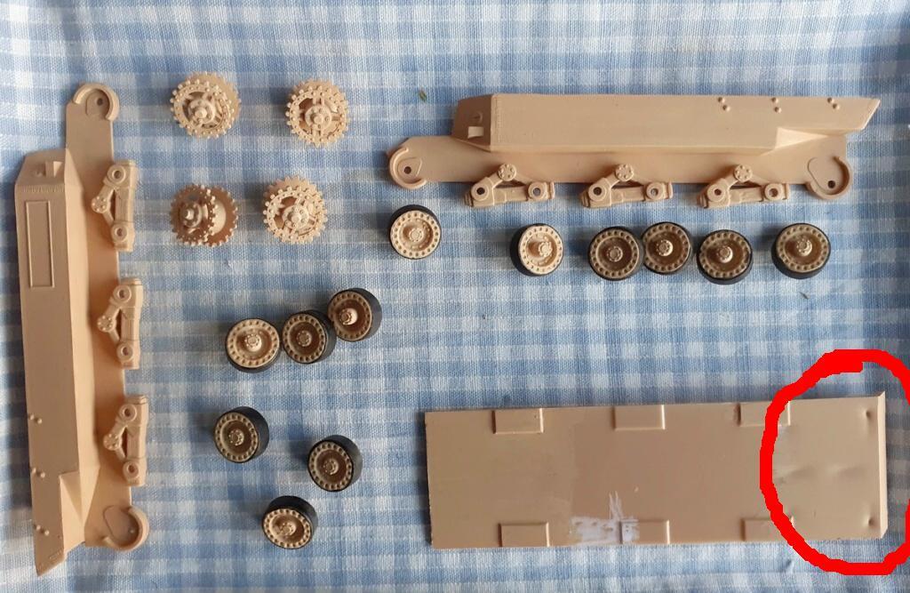 "From the box - German tank ""elephant"" esci 1/72 20201110"