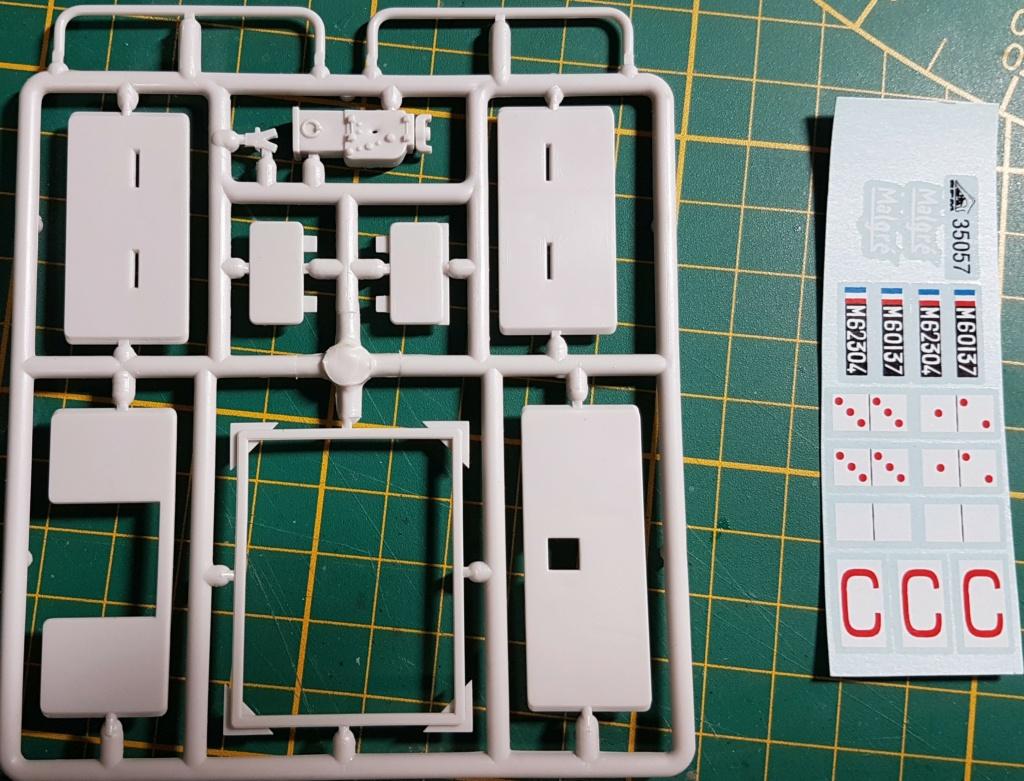 From the box - SD.KFz.135 Ambulans 'RPM au 1/35' monté en lorraine 38L *** Terminé en pg 3 20201210