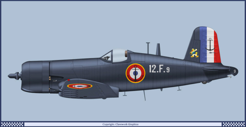 "F4U-7 Corsair ""french navy"" 48 de HASEGAWA (fini) 21_1010"