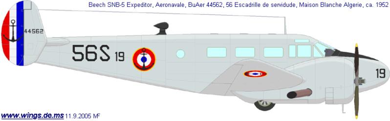 "Fil rouge 2019 : Beechcraft ""Expeditor"" ICM 1/48 *** Terminé en pg 2 21_210"