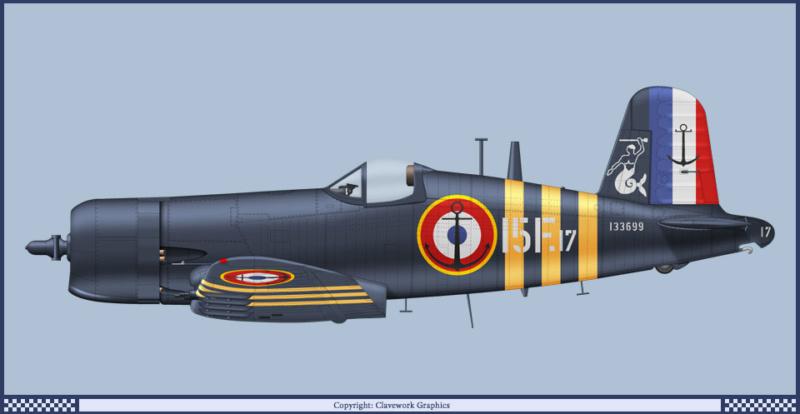 "F4U-7 Corsair ""french navy"" 48 de HASEGAWA (fini) 21_3_b10"