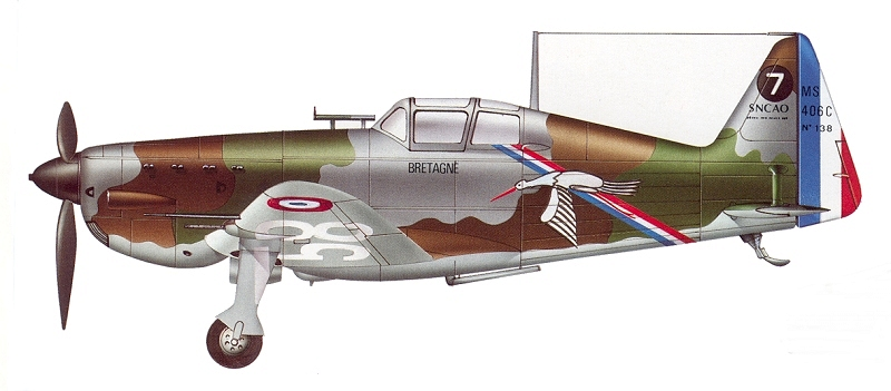 Morane-saulnier Ms406 AZ-model 1/48 21_416