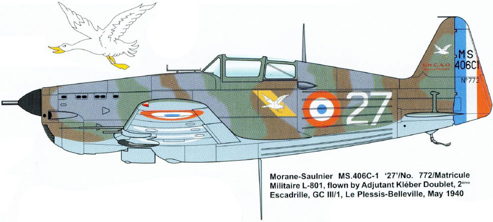 Morane-saulnier Ms406 AZ-model 1/48 21_45_10
