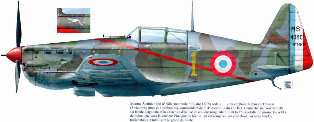 Morane-saulnier Ms406 AZ-model 1/48 21_5110