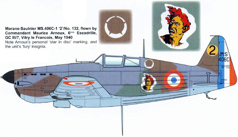 Morane-saulnier Ms406 AZ-model 1/48 21_515