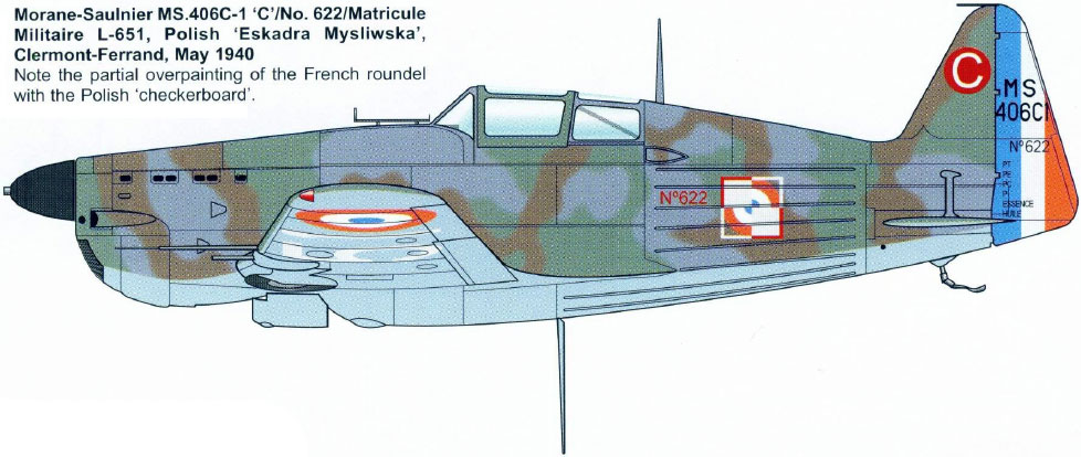 Morane-saulnier Ms406 AZ-model 1/48 21_5510